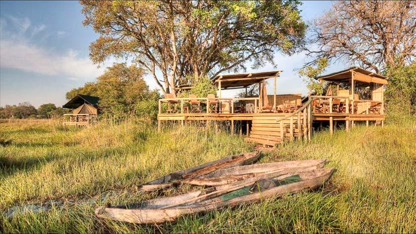 Oddballs' Enclave , Oddballs Camp, Botswana © C. Courteau