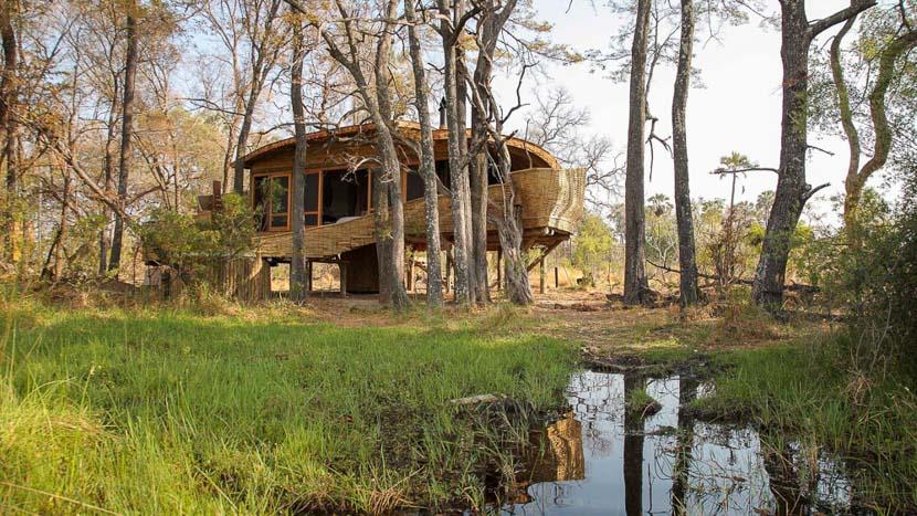 &Beyond Sandibe Okavango Safari Lodge, Sandibe Delta Camp, Botswana © AndBeyond