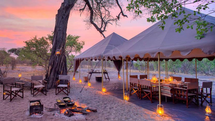 Savute Under Canvas, Savute Under Canvas, Botswana © &Beyond S. Mann