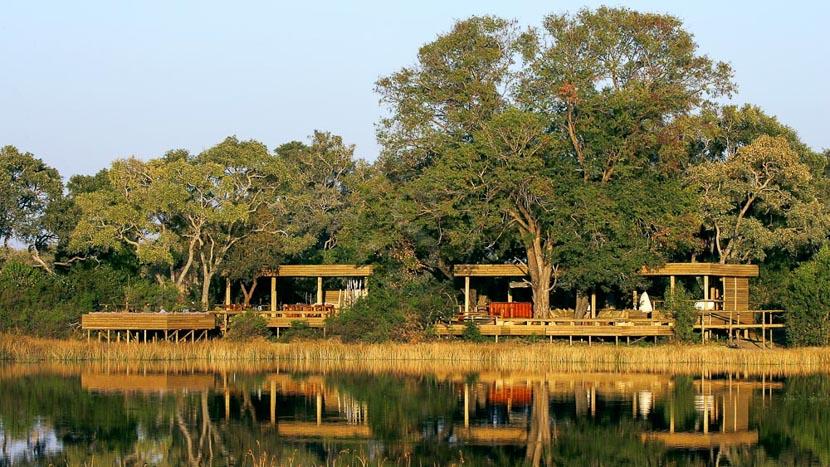 Vumbura Plains Camp, Vumbura Plains Camp, Botswana © Wilderness Safaris