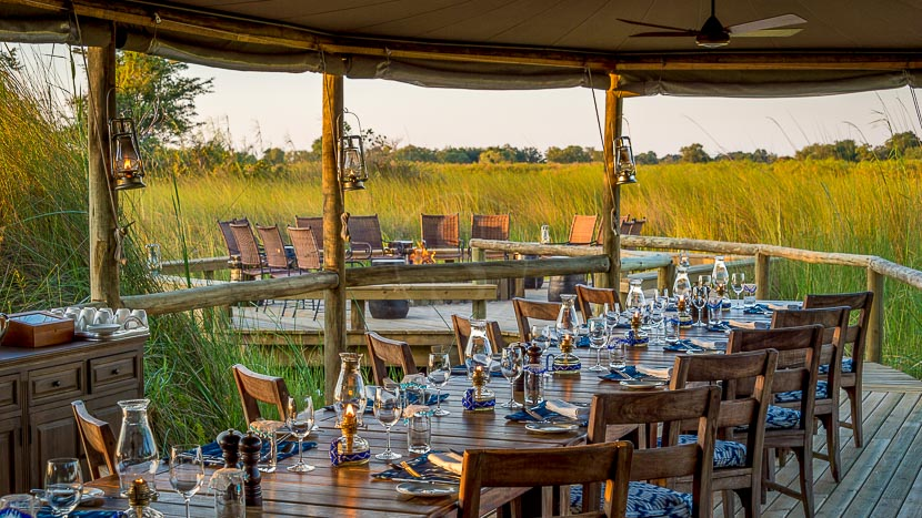 Little Vumbura Camp, Little Vumbura, Botswana © Wilderness Safaris - Dana Allen