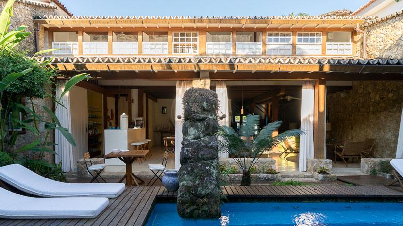Casa Turquesa, Casa Turquesa, Brésil
