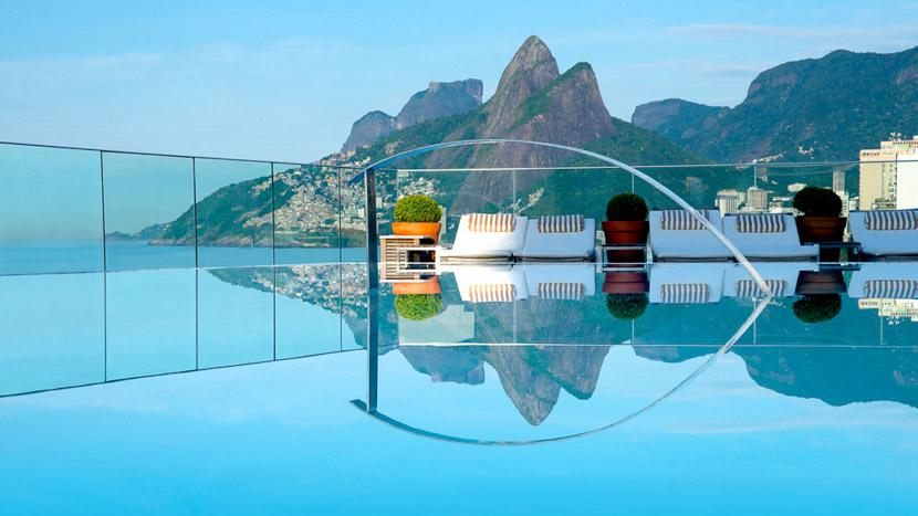 Fasano Hôtel Rio, Hotel Fasano de Rio, Brésil © Jacqueline Knabben