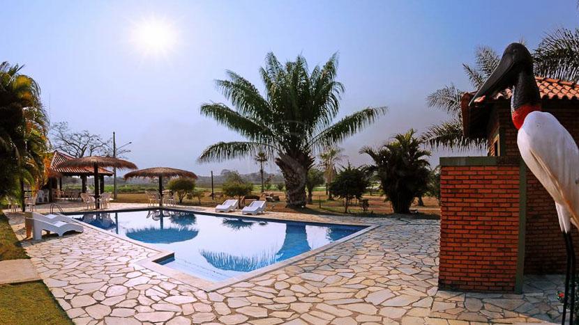 Hotel Pantanal Norte Porto Joffre, Hotel Pantanal Norte, Brésil © Charles Stihl