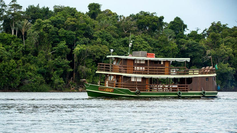 Jacaré-Acu, Jacaré Tinga, Brésil © Katerre Expeditions