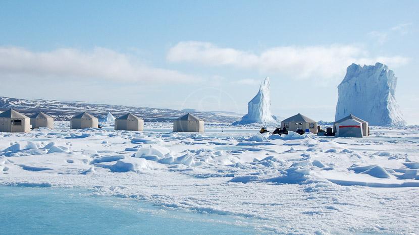 Safari Camp en Terre de Baffin, Expédition en Terre de Baffin, Canada © AK - tous droits réservés