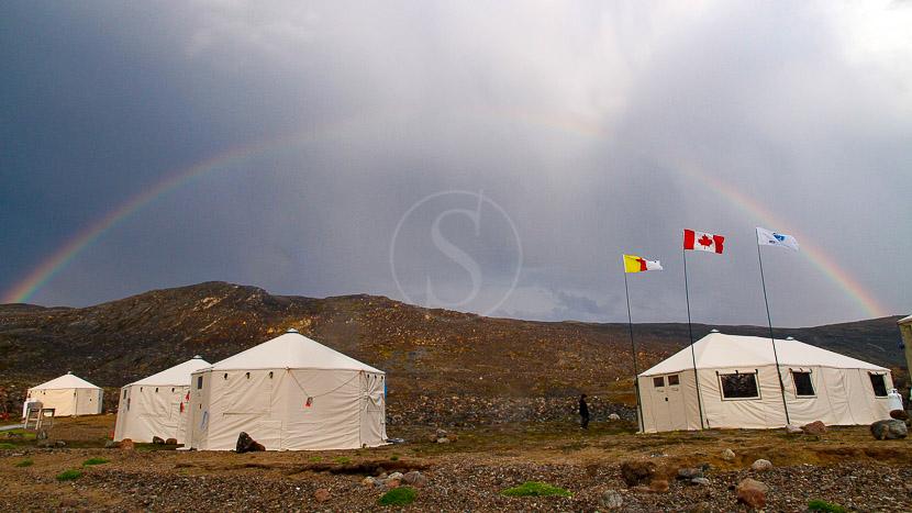 Premium Safari Camp en Terre de Baffin, Premium Camp, Canada © AK