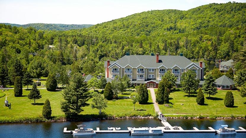 Auberge du Lac à L'eau Claire, Auberge Lac Eau Claire Mauricie, Canada