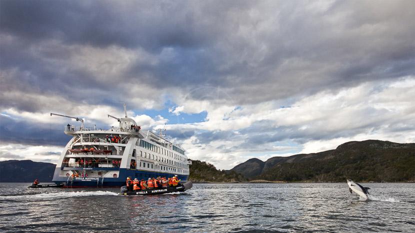 Stella Australis, Stella Australis en Terre de Feu © Cruceros Australis