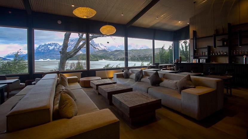 Hosteria Lago Grey, Hotel Lago Grey Torres del Paine, Chili
