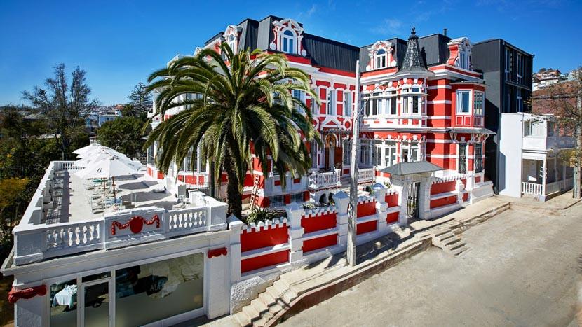 Hotel Palacio Astoreca, Hôtel Palacio Astoreca, Chili © Tous droits réservés