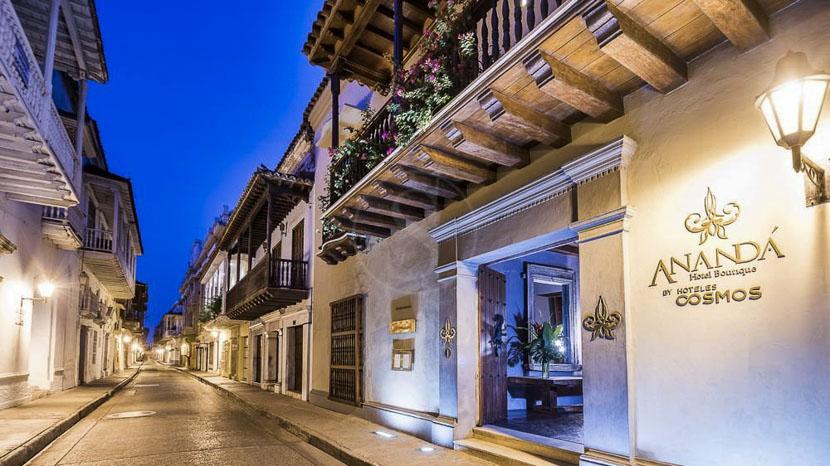 Ananda Boutique hôtel, Ananda Hotel Carthagene, Colombie