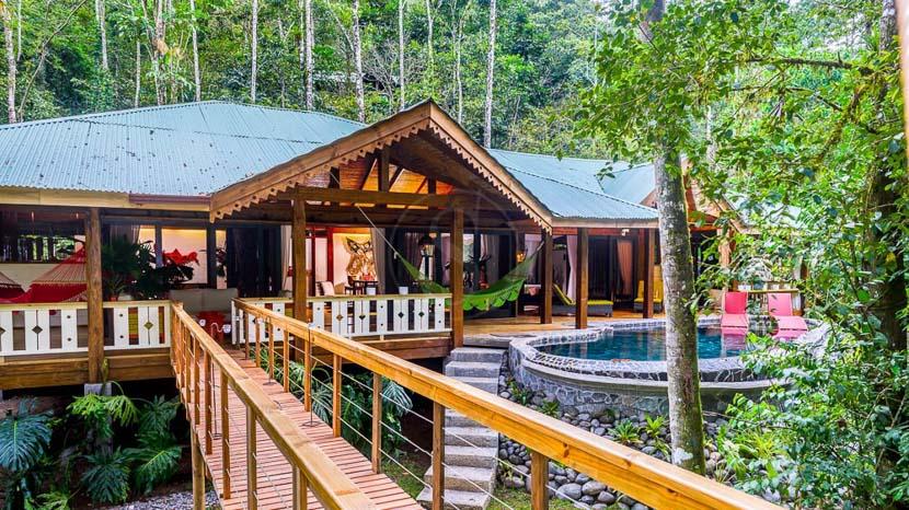 Pacuare Lodge, Jaguar Villa du Pacuare Lodge, Costa Rica © Pacuare