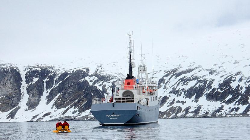 Le Polarfront, Croisière au Spitzberg, Norvège