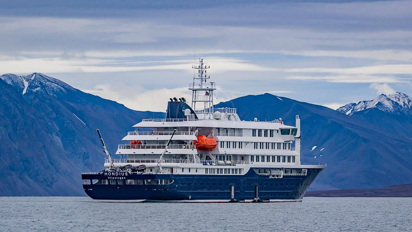 M/V Janssonius, Navires Hondius & Janssonius © Oceanwide Expeditions