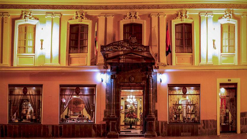 Patio Andaluz, Patio Andaluz de Quito, Equateur