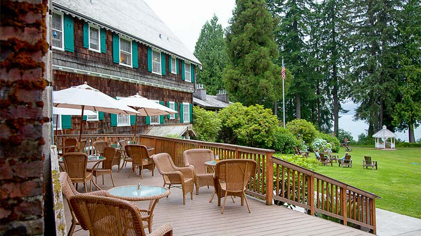 Lake Quinault Lodge, Lake Quinault Lodge, Etats-Unis