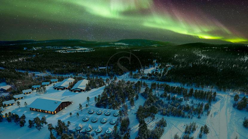 Inari Wilderness Hotel, Wilderness Hôtel Inari, Finlande