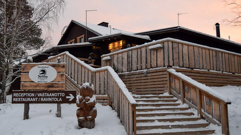 Wilderness Hotel Nellim, Hôtel Nellim, Finlande