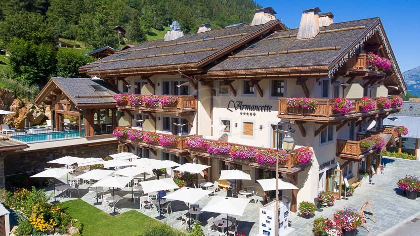 L'Armancette Hôtel, Chalets & Spa, L'Armancette Hôtel & Spa, France © Armancette