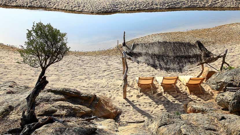 Domaine de Murtoli, France, Corse du Sud (2A), Domaine de Murtoli, la grande plage
