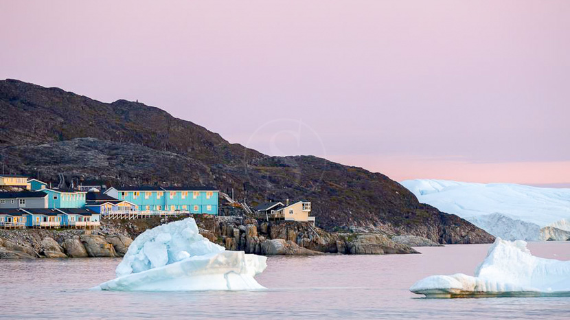 Hotel Icefiord, Hotel Icefjord, Groenland
