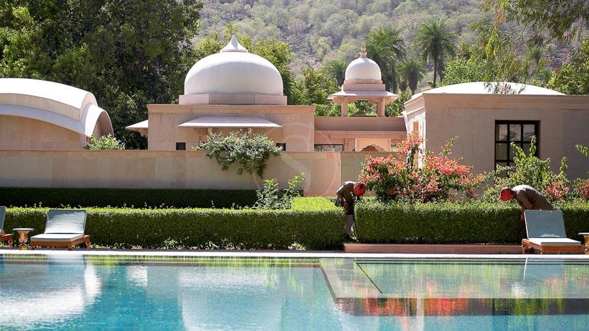 Amanbagh, Amanbagh Jaipur, Inde © Aman