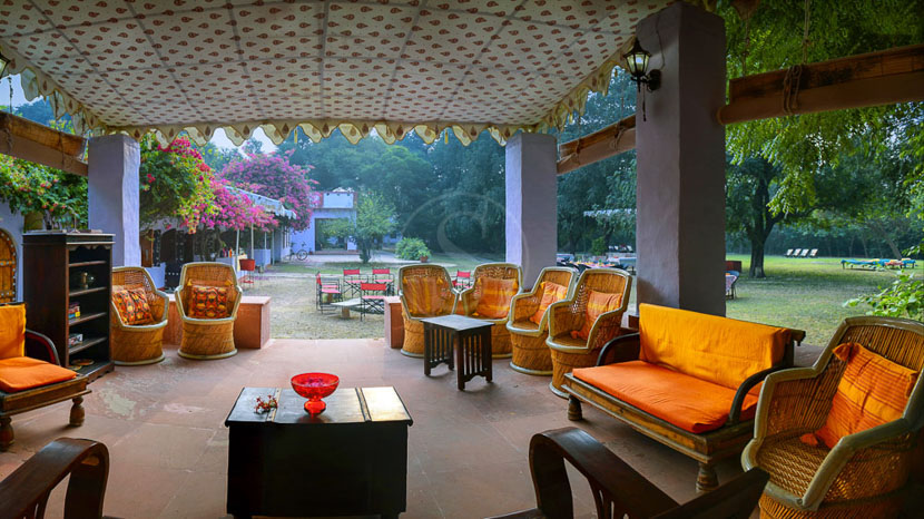 Chambal safari lodge, Chambal Safari Lodge, Inde © Chambal Safari Lodge