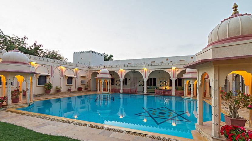 Rohet Garh, Rohet Garh Hotel, Inde
