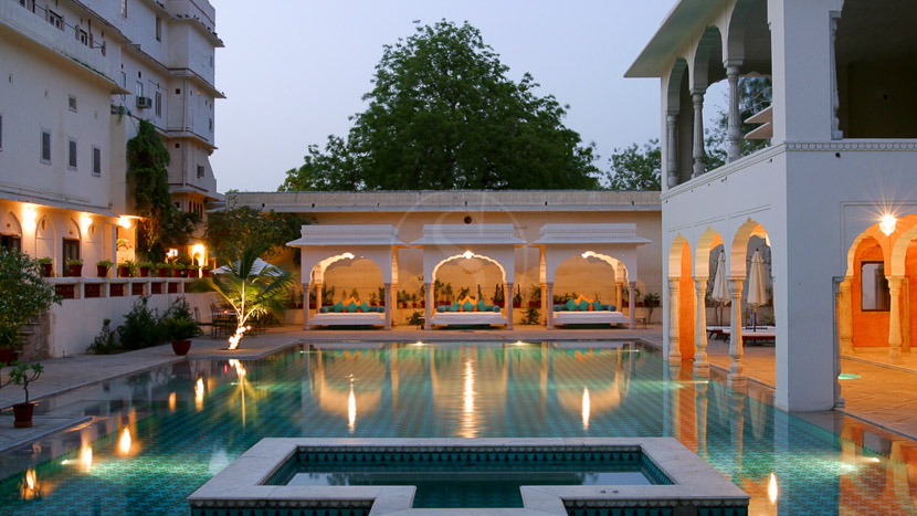 Samode Haveli, Samode Haveli, Inde