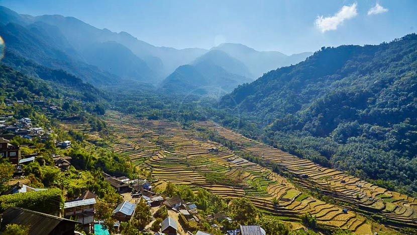 Kohima Camp, UTC Kohima Camp Nagaland, Inde © UTC