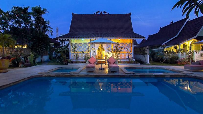 Puri Tempo Doeloe, Puri Tempo Doeloe Lodge, Indonésie