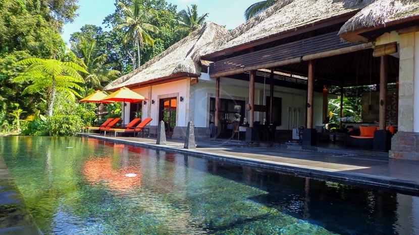 Rouge, Villa privée vers Ubud à Bali, Indonésie © Rouge R.