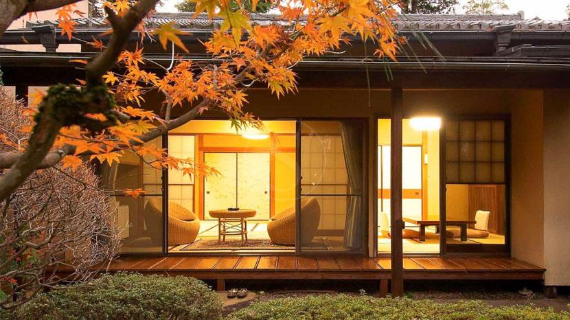 Gyokutei Lodge, Gyokutei hakone, Japon