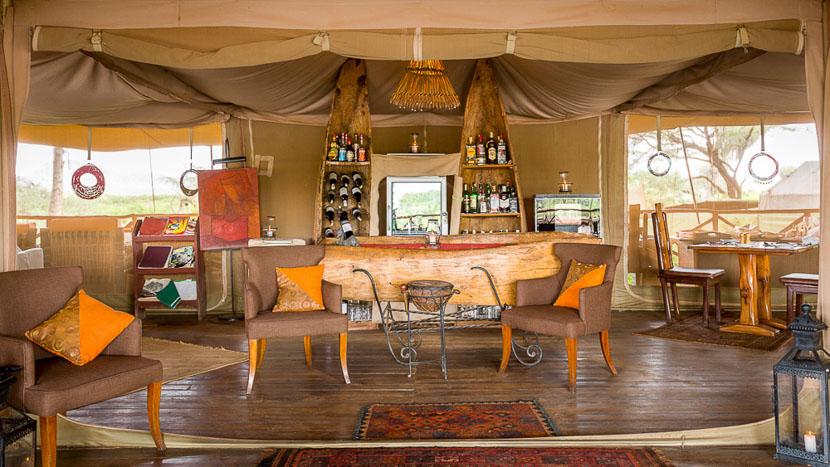 Elephant Bedroom Camp, Elephant Bedroom Camp de Samburu, Kenya
