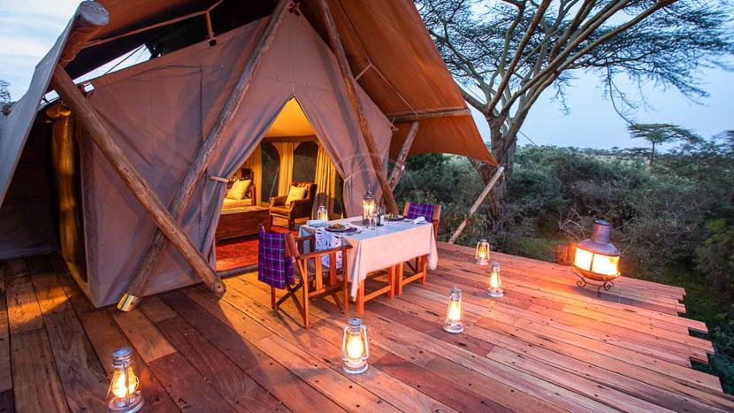 Mara Nyika Camp, Mara Nyika Camp, Kenya © Great Plains Conservation