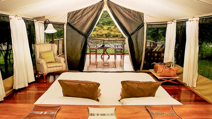 Karen Blixen Camp, Karen Blixen Camp Mara, Kenya © KBC
