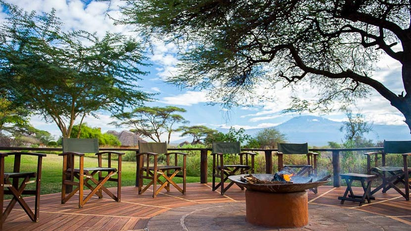 Amboseli Tawi Lodge, Tawi Lodge, Kenya