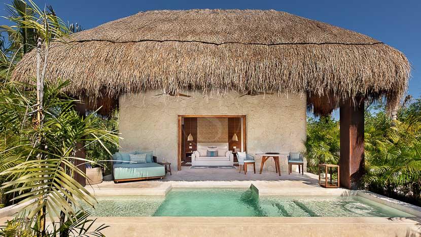 Chablé Maroma, Chable Maroma Stand Alone Villa, Mexique © Chable Resorts