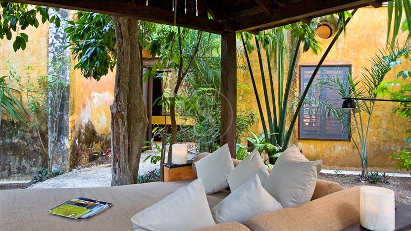 Hacienda Uayamon, Hacienda Uayamon, Mexique