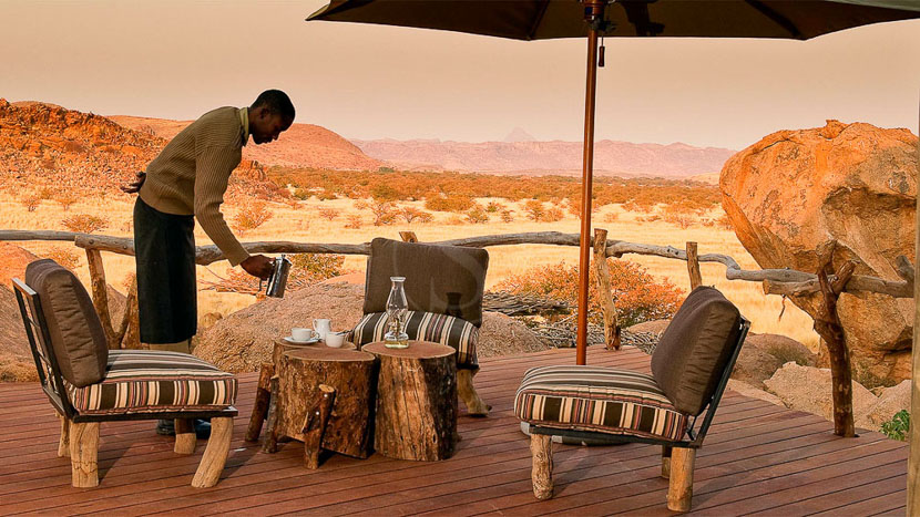 Camp Kipwe, Camp Kipwe, Namibie © David Rogers