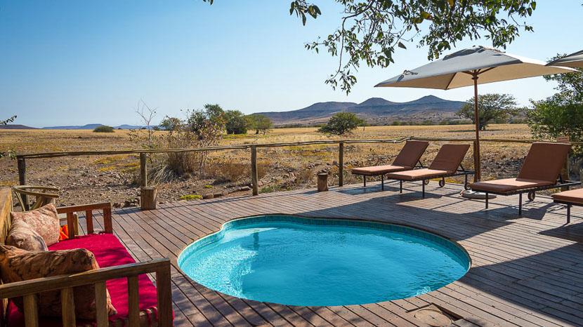 Desert Rhino Camp, Desert Rhino Camp, Namibie © Dana Allen