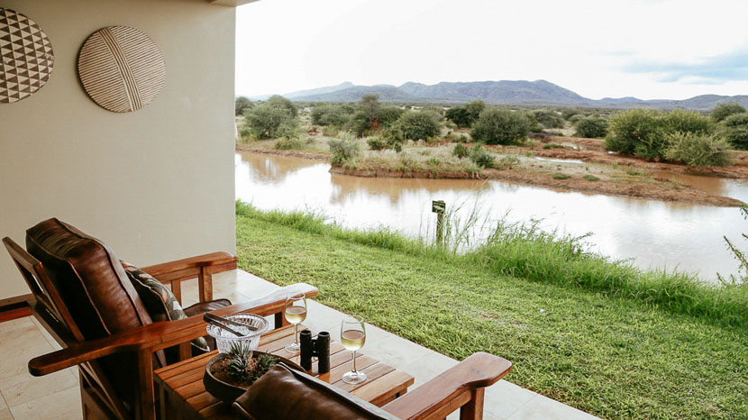 Erindi Old Traders Lodge, Erindi Private Game Reserve, Namibie