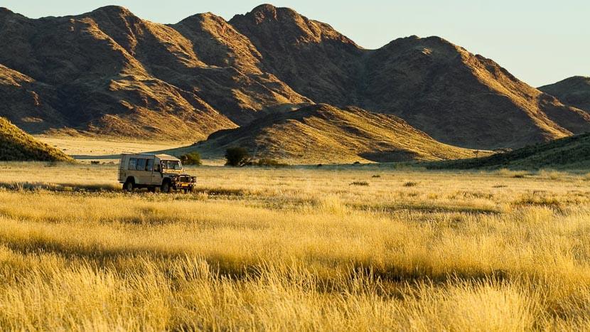 Campement itinérant en Namibie, Balade en fin de journée vers Sesriem, Namibie