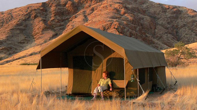 Campement itinérant en Namibie, Safari en campement itinérant, Namibie