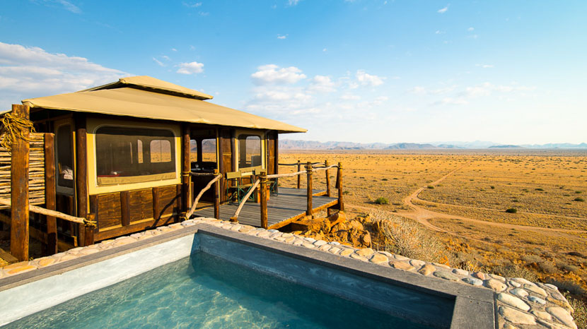Moon Mountain Lodge, Moon Mountain Lodge, Namibie © Chris Schmid