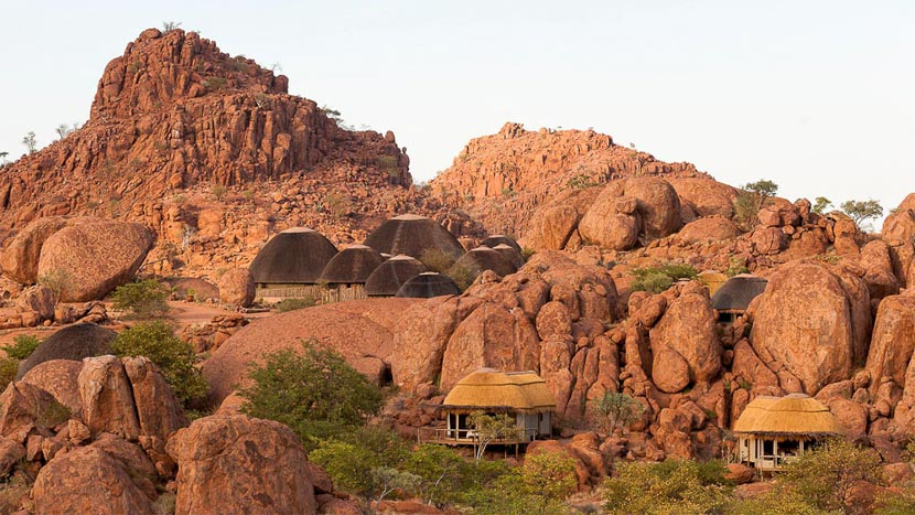 Mowani Mountain Camp, Mowani Mountain Camp, Namibie