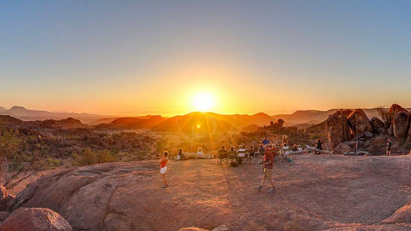 Mowani Mountain Camp, Mowani Mountain Camp, Namibie