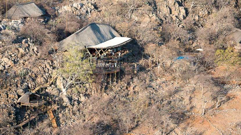 Ongava Lodge, Ongava Lodge à Etosha, Namibie © Olwen Evans