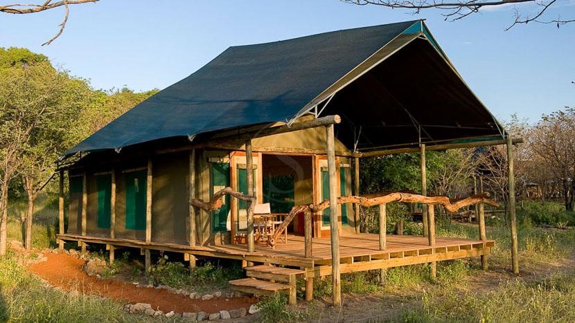 Ongava Tented Camp, Ongava Lodge à Etosha, Namibie © Dana Allen